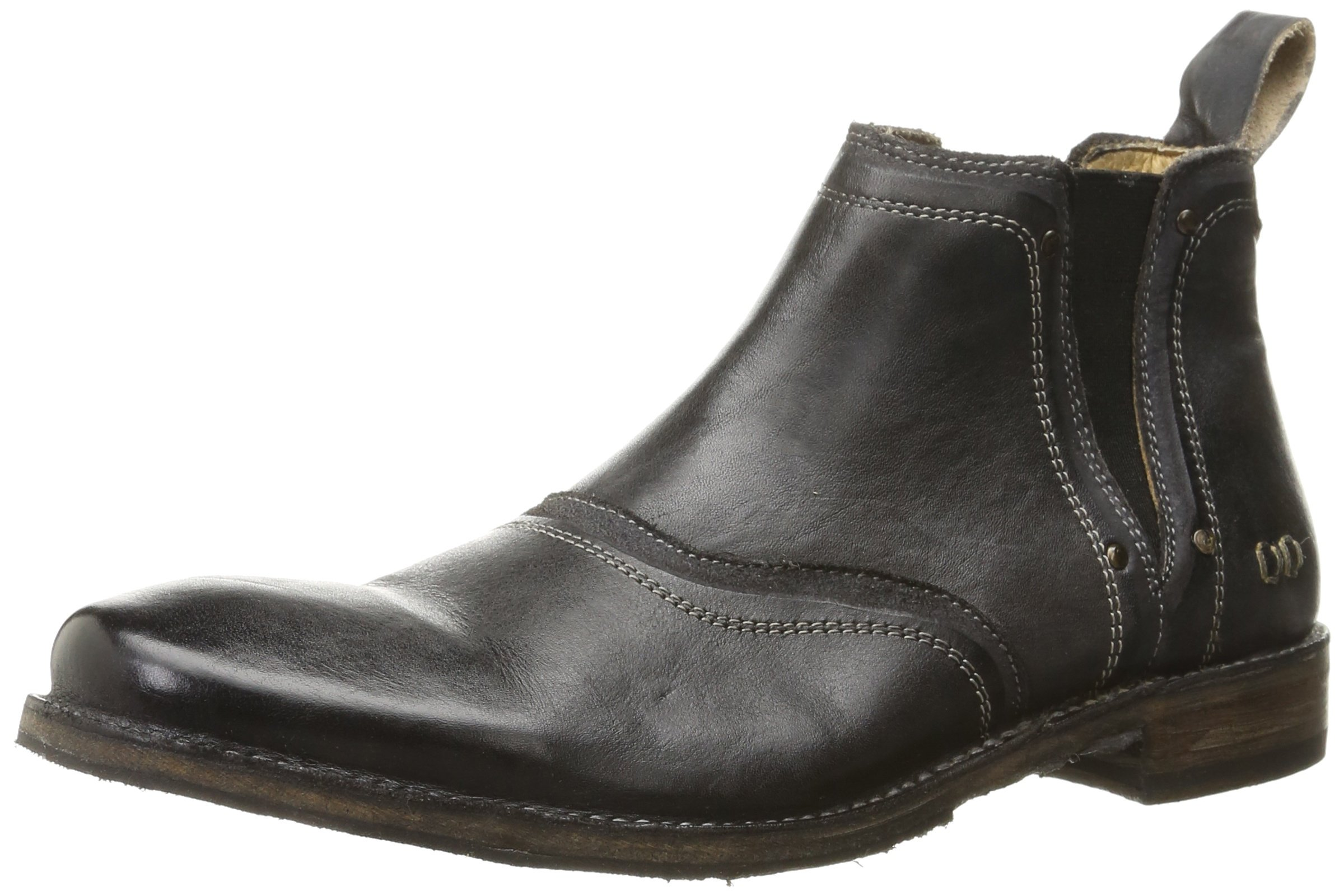 Bed Stu Men's Prato Chelsea Boot, Black Rustic, 10 M US
