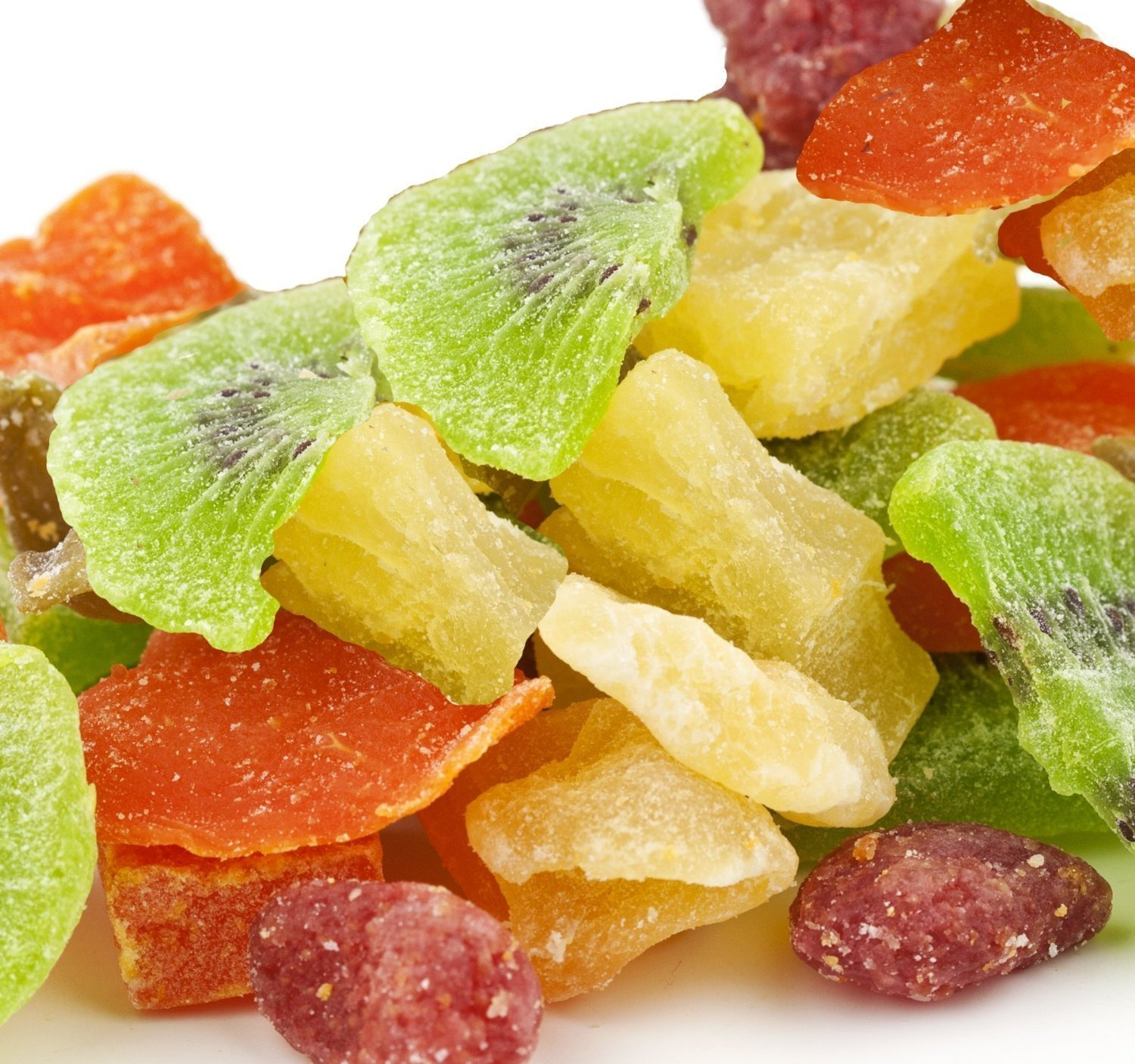 CandyMax Brand, Tropical Fruit Salad / Dried Fruit - 4 Lbs by CandyMax