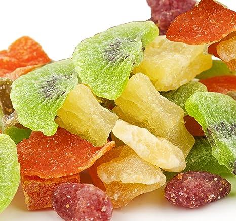 candymax marca, ensalada de frutas tropicales/Frutos Secos ...