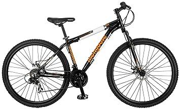 mongoose impasse hd 29 wheel mountain bicycle black 18 frame size - Mountain Bike Frame Sizes