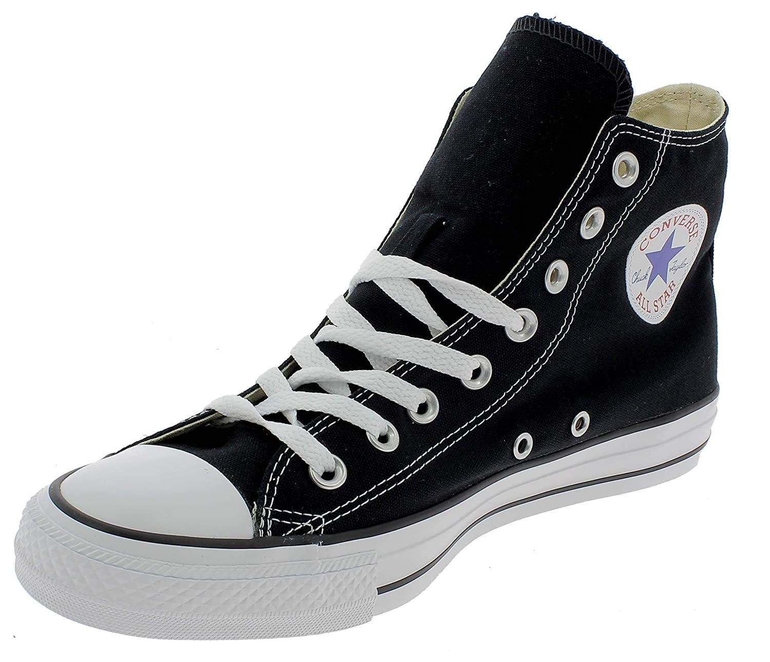 170eb0be6a7 Amazon.com | Converse Unisex Chuck Taylor All Star Core Hi Classic Black  Sneaker Men's 4.5, Women's 6.5 Medium | Fashion Sneakers