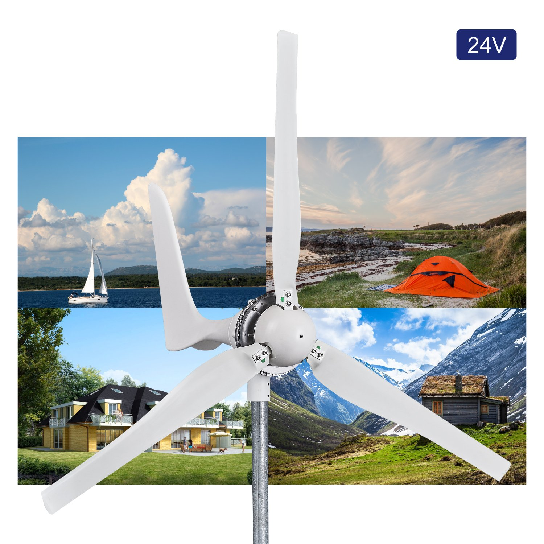 Automaxx Windmill 1200W 24V 42A Wind Turbine Generator Kit