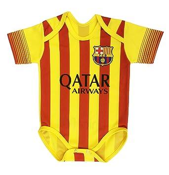 Amazon.com: F.C Barcelona Away traje de bebé 0 – 9 meses ...