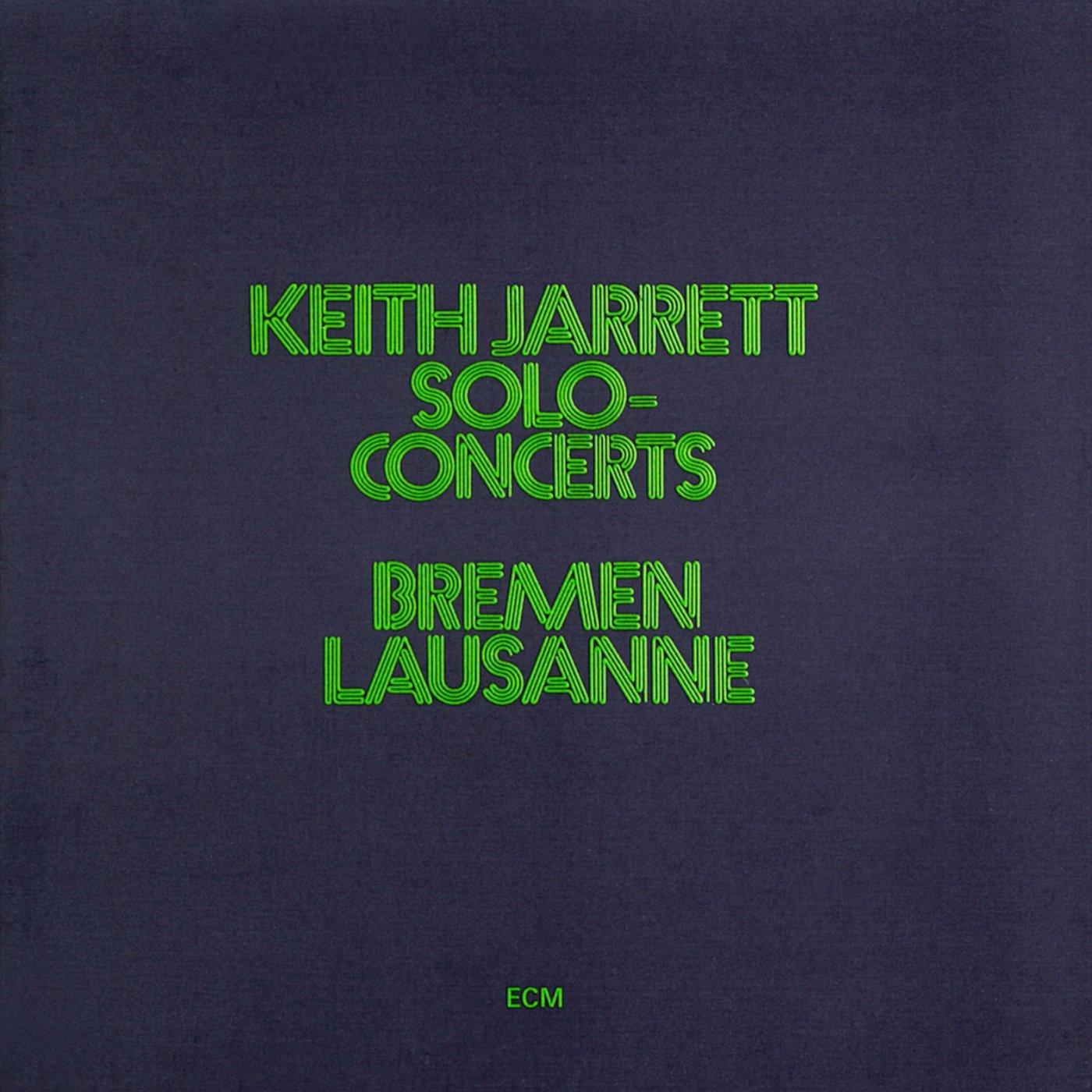 Solo Concerts: Bremen & Lausanne by Ecm