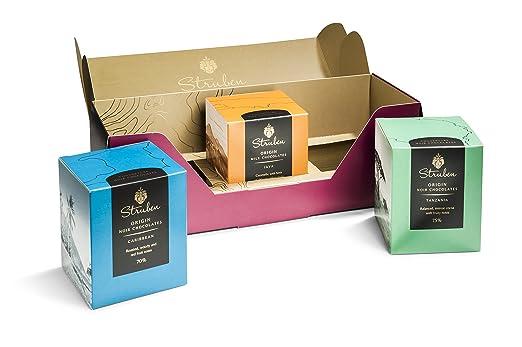 Top Confezione Regalo Struben Origine Chocolate - Ogni origine  GO75