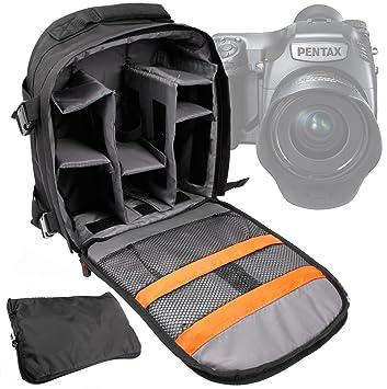 Mochila para cámara réflex DURAGADGET/mochila con compartimento ...