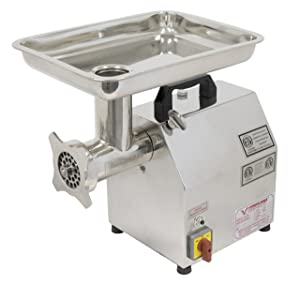 American Eagle Food Machinery AE-G12N 1HP #12 Commercial Stainless Steel Meat Grinder