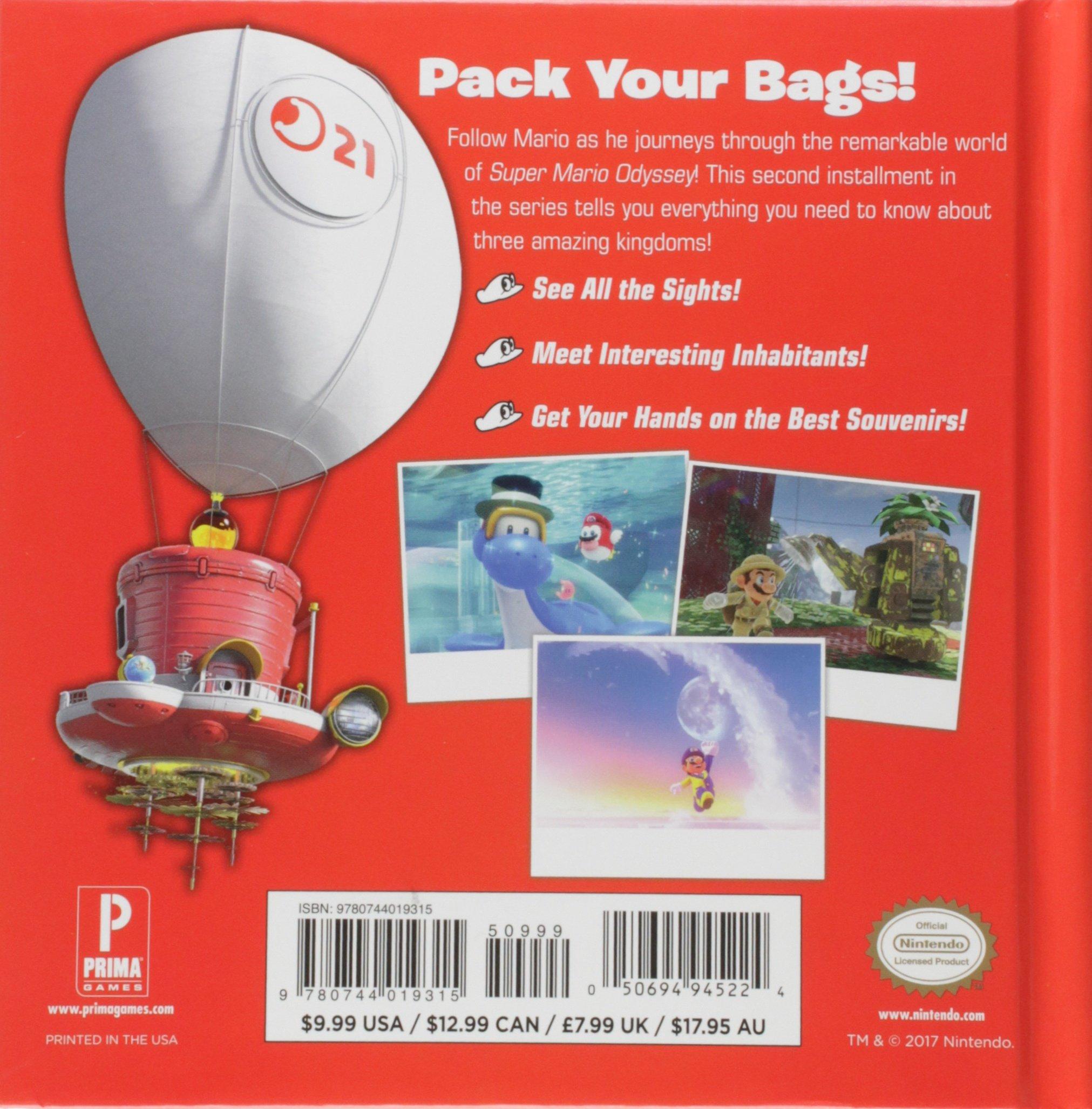 Super Mario Odyssey: Kingdom Adventures, Vol. 2 Idioma Inglés: Amazon.es: Walsh, Doug: Libros en idiomas extranjeros