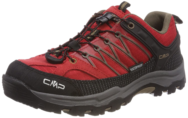 Rot (Ferrari-tortora) CMP Unisex-Erwachsene Rigel Trekking-& Wanderstiefel