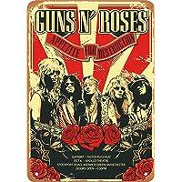 Guns N' Roses Póster de Pared Metal Creativo
