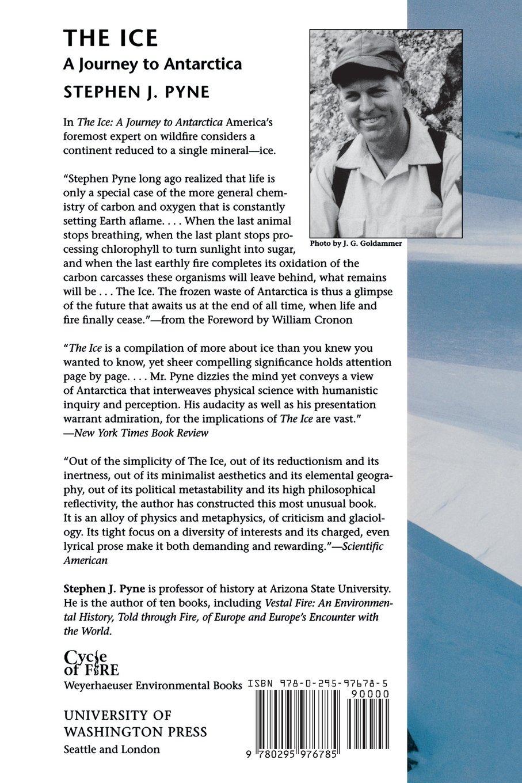 The ice a journey to antarctica weyerhaeuser environmental books the ice a journey to antarctica weyerhaeuser environmental books stephen j pyne 9780295976785 amazon books fandeluxe Image collections