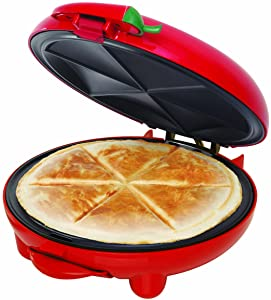 BELLA (13506) 8-inch Quesadilla Maker, Red