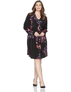 6af2fa206c5 RACHEL Rachel Roy Women s Plus Size V-Neck Daisy Print Dress at ...