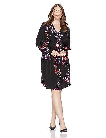RACHEL Rachel Roy Women\'s Plus Size Front Wrap Dress at Amazon ...