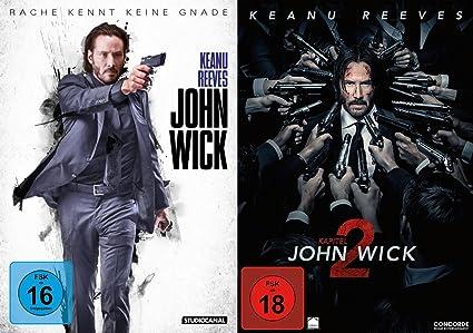 John Wick 12 Dvd Set Teil 12kapitel 12 Amazonde Keanu