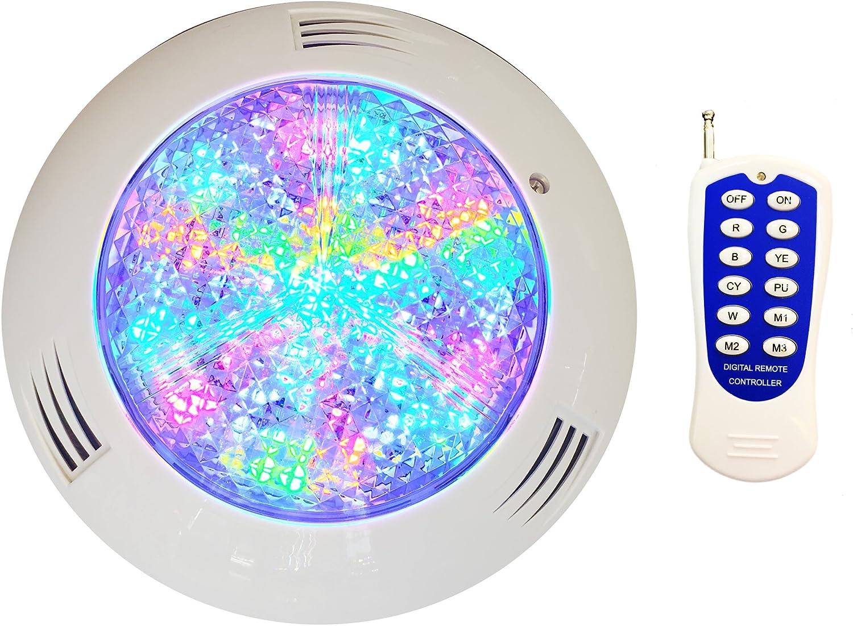 nicmet 10W Warm white white RGB RGBW LED Underwater Spot Light 12V Garden Pool