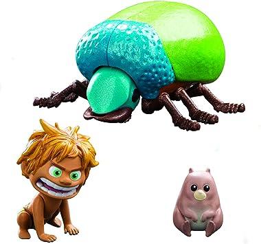 Disney The Good Dinosaur Spot y Beetle y Figuras de acción: Amazon.es: Juguetes y juegos