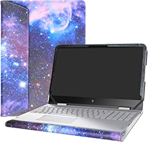 "Alapmk Protective Case Cover for 15.6"" HP Envy X360 15 15-wXXX 15-apXXX 15-arXXX m6-apXXX m6-arXXX Laptop [Warning:Not fit Envy X360 15 15-cnXXX 15-cpXXX 15-bqXXX 15-bpXXX 15-uXXX Series],Galaxy"