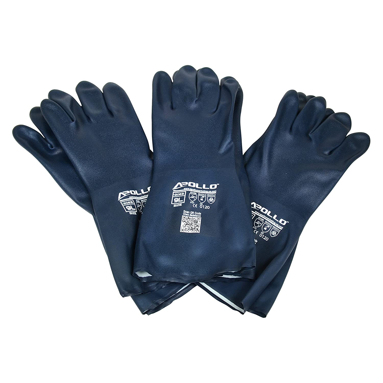 Apollo Performance Gloves 20633PK Chemical Resistant Gloves ...