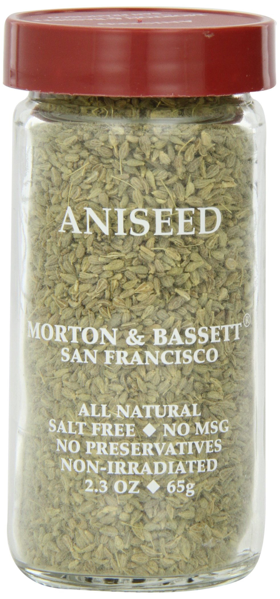 Morton & Basset Spices, Aniseed, 2.3 Ounce (Pack of 3) by Morton & Bassett (Image #1)