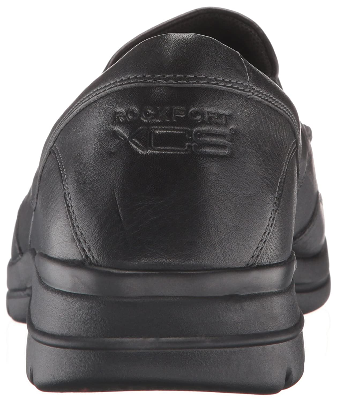 Rockport Mens City Play Two Slip On Oxford Walking Sepatu Pria Branded Maroon Ampamp Black