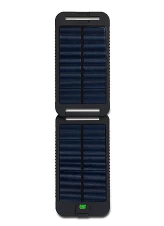 PowerTraveller Monkey - Adventurer - Cargador solar portátil, capacidad 2500 mAh USB 5V 0.7A Lithium-Ion Polymer