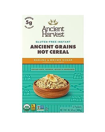 Ancient cosecha Orgánica Sin Gluten antiguas grano caliente ...