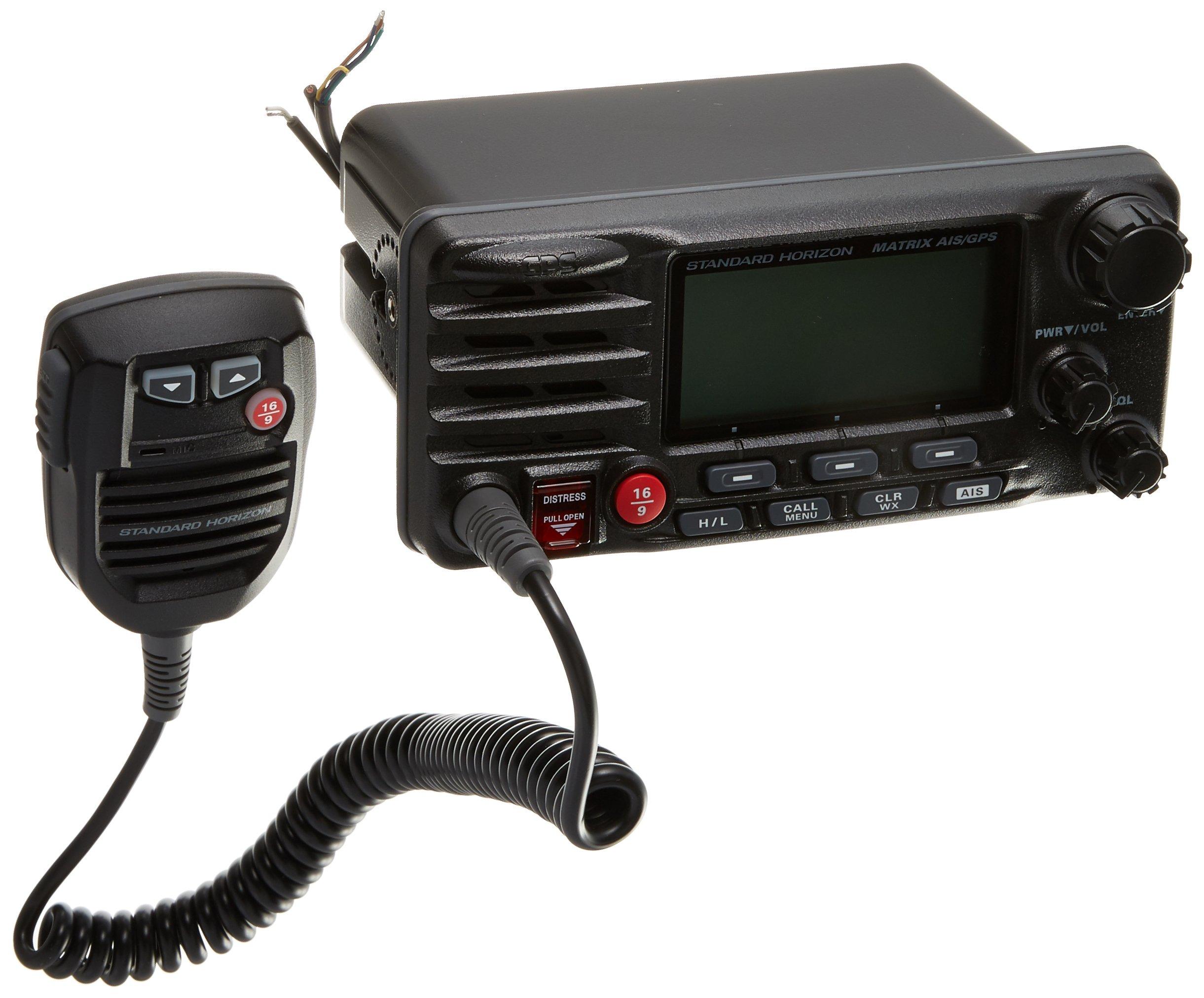 Standard Horizon GX2200B Standard Matrix AIS/GPS VHF (Black) by Standard Horizon (Image #1)