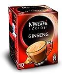 Nescafé Caffè Golosi Ginseng Preparato Solubile in Polvere al Caffè e Ginseng 10 Buste, 10 Tazze