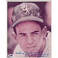 $26 » Luis Aparicio Autographed Baseball Photo - Autographed MLB Photos