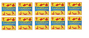Virgo Toys Tangram - (Pack of 10)