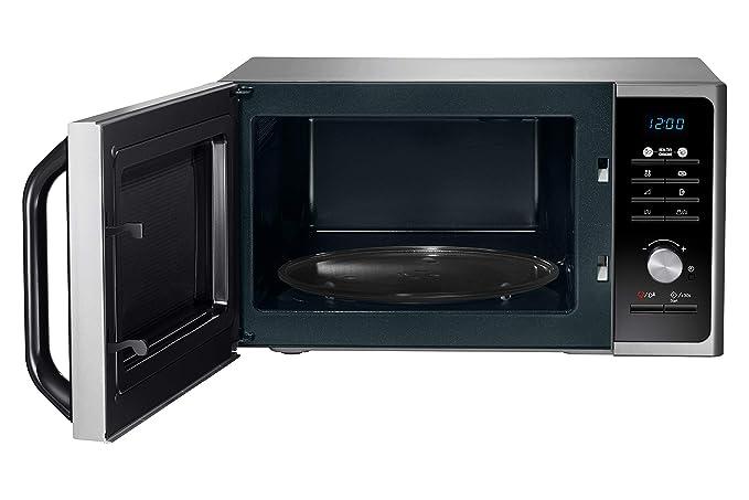 Samsung MG23F301TCS Encimera 23L 800W Plata - Microondas (335 x ...
