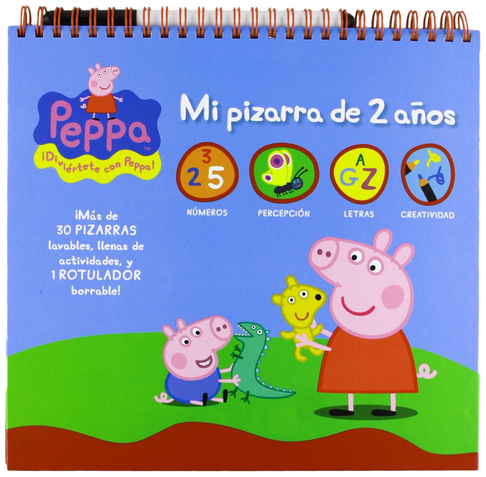 PEPPA PIG 2 AÑOS MI PIZARRA PARA JUGAR Y APRENDER ...