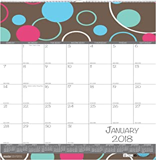 "product image for House of Doolittle 2018 Monthly Wall Calendar, Bubble Luxe, 12 x 12"", January - December (HOD340-18)"