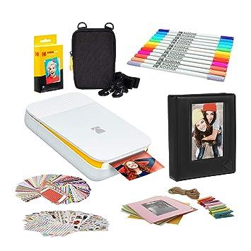 Amazon.com: KODAK Smile Instant Digital Printer (Blanco ...