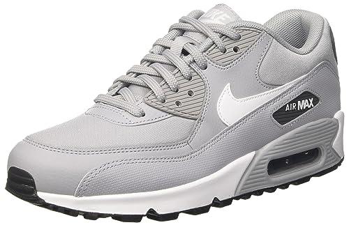 Buy Nike Women's Air Max 90 Wolf Grey/White/Dark Grey ...