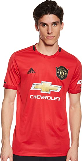 amazon com adidas manchester united home shirt 2019 20 clothing adidas manchester united home shirt 2019 20