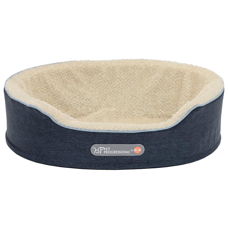 Pet Progressions 100536104 Pet Bed, Navy, 28  x 21  x 7