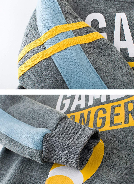 Pullover Sweatshirt for Kids Long Sleeve Shirt Cotton Shirt Cute Tee for Boys