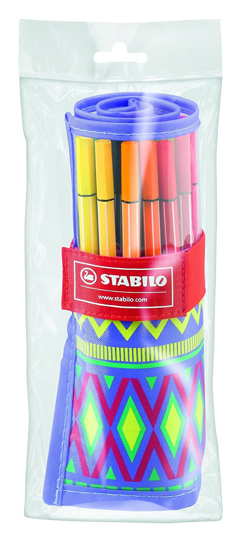 Amazon.com: STABILO Pen 68 Festival Spirit Felt Tip Pens ...