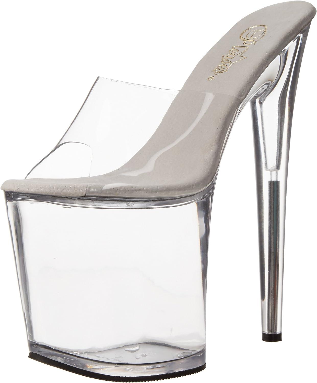Pleaser Flamingo-801, Zapatos con Plataforma para Mujer