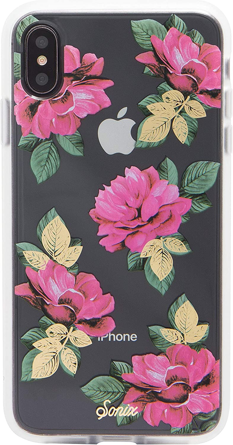 Sonix La Flor Case for iPhone X/Xs [Drop Test Certified] Women's Protective Clear Flower Case for Apple iPhone X, iPhone Xs
