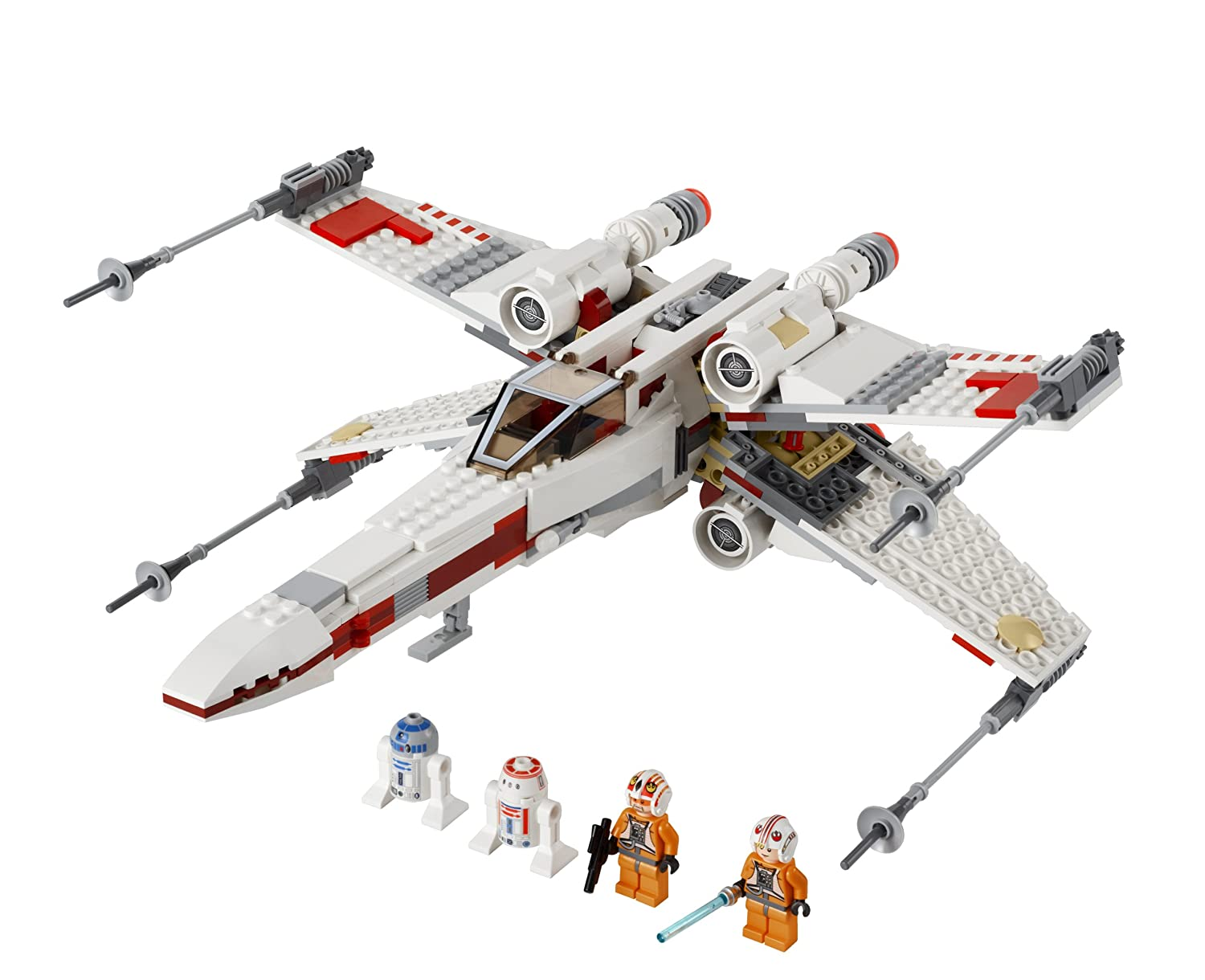 Uncategorized Luke Skywalker Ship amazon com lego star wars x wing starfighter 9493 discontinued by manufacturer toys games