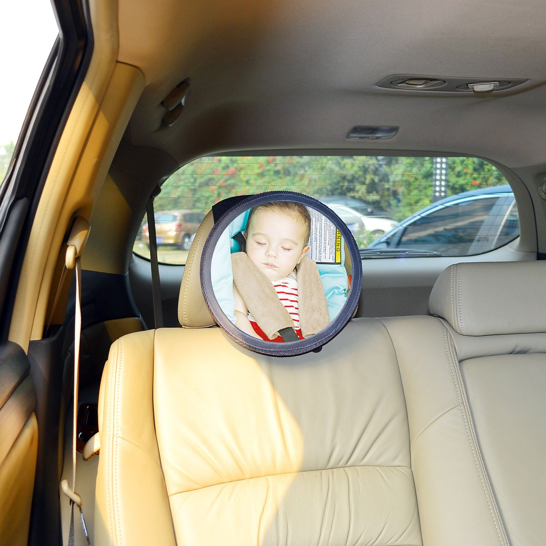 Amazon TFY See My Baby Rear Facing Car Seat Safety Mirror Black