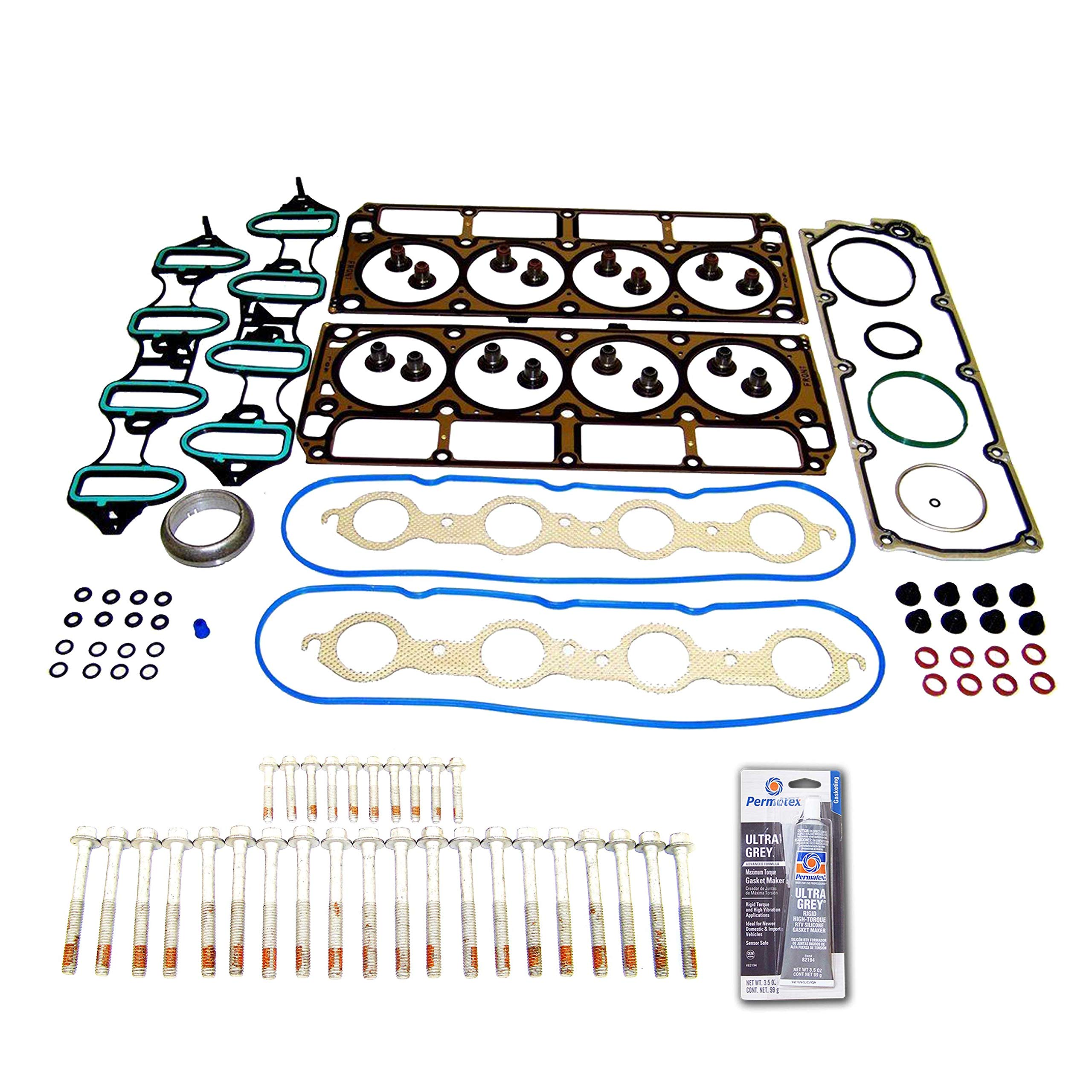 CHEAP Head Gasket Set Bolt Kit Fits: 05-11 Chevrolet Trailblazer 6 0L V8  OHV VORTEC - Reviews VIDEO - Special Discount Today