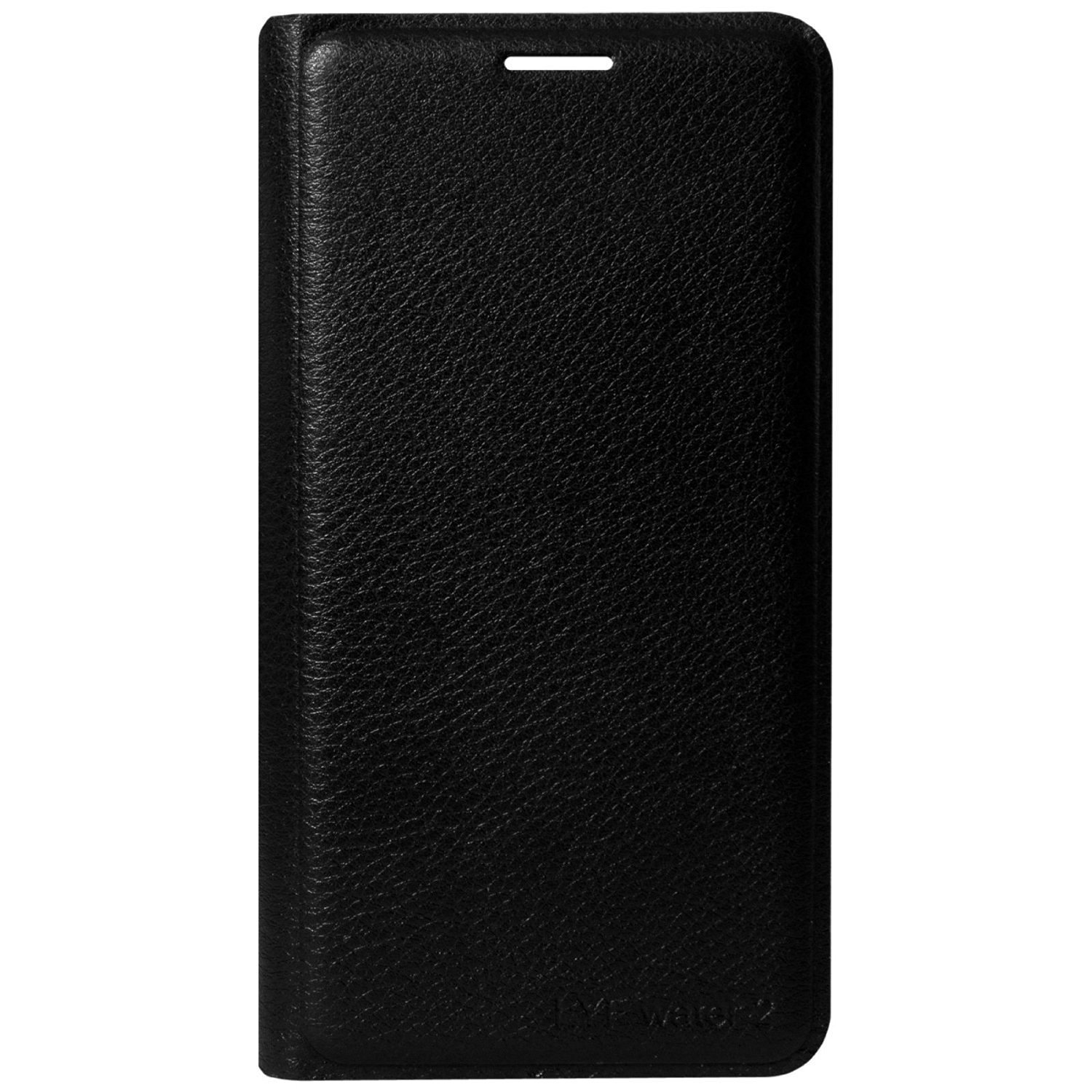 new concept d386d b3e22 Johra Leather Black Flip Cover Case For Gionee S6 Pro: leather ...
