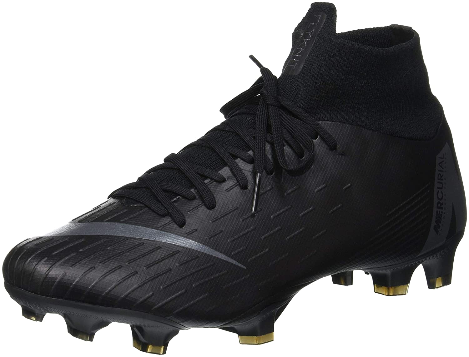 official photos fec0e a38f8 Amazon.com  Nike Mercurial Superfly 6 Pro FG Soccer Cleat (Black) (Mens  8.5Womens 10)  Soccer
