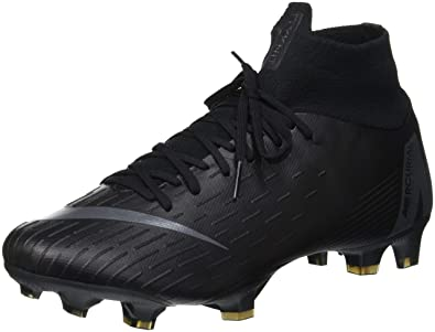 2b6e41ed5b06 Nike Mercurial Superfly 6 Pro FG Soccer Cleat (Black) (Men's 7.5/Women's