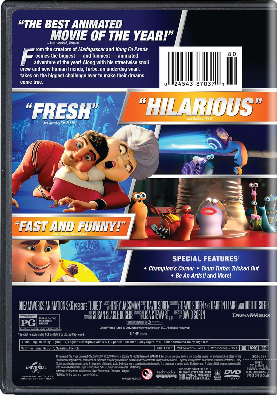 TURBO / WS AC3 DOL DVD Region 1 NTSC US Import: Amazon.es: Cine y Series TV