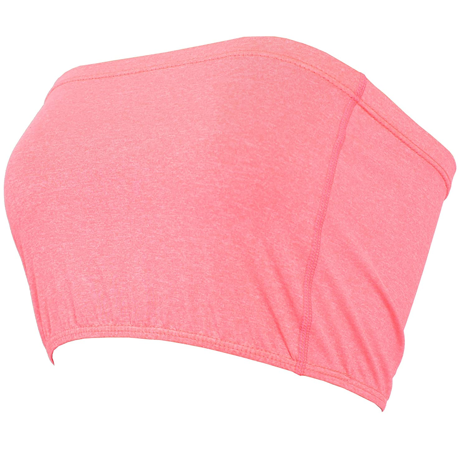 ... XPRIN T100 Series Basic Layering Seamless Bandeau Tube top Crop Bra  Strapless (Non-Padded 5a380d582f2a